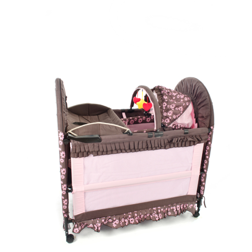Baby Cots At Jet Mart Camp Cots Chelino 6 In 1 Baby Camp Cot Pink Brown Was